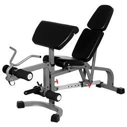 XMark Fitness XMark FID Flat/Incline/Decline Weight Bench wi