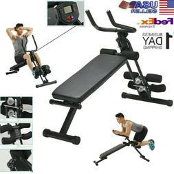 Fitness Adjustable Olympic Home Gym Weight Lifting Workout S