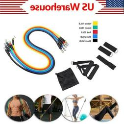 Fitness Insanity Resistance Bands Set Portable Home Gym Acce