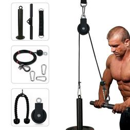 Fitness Pulley Cable System Machine Gym Home Sports DIY Lift