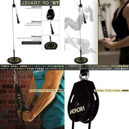 Archon Fitness Single Pulley Cable Station | Cable Machine |