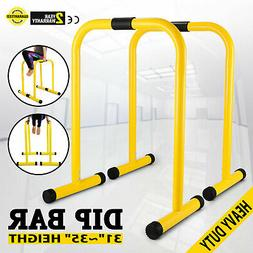 Fitness Station Stabilizer Dip Station Bars Home Gyms Parall