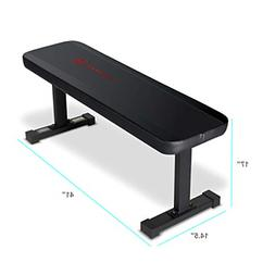 Marcy Flat Utility Weight Bench for Weight Training and Abs