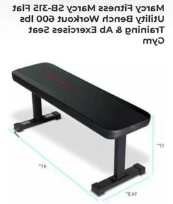 Marcy Flat Utility Weight Bench For Weight Training And Ab E