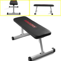 FLAT WEIGHT BENCH Strength Training Home Fitness Gym Equipme