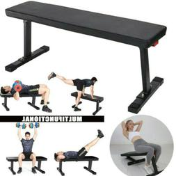 Flat Weight Workout Bench Press Exercise Strength Training H