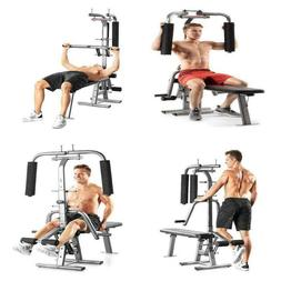 Flex CTS Total Home Gym Workout 200 lb Weight Bench Press Sh