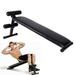 Folding Adjustable Ab Sit Up Bench Decline Home Gym Crunch F