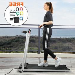 Folding Treadmill Electric Motorized Power 2.0 HP Running Ma