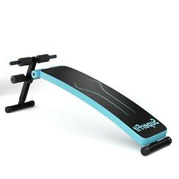 Folding Weight Bench Adjustable Sit-up Board Workout Slant F