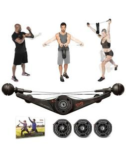 Full Body Portable Gym Equipment Set for Exercise at Home, O