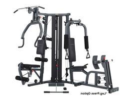 BodyCraft Galena Pro Home Gym,  Stack with Pec Dec, Leg Pres