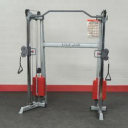 Body-Solid GDCC200 Functional Trainer with Premium Red Weigh