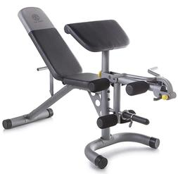 Gold's Gym XRS 20 Multi Functional Olympic Weight Bench Deve