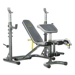 Gold's Gym XRS20 Home Gym Olympic Weight Bench