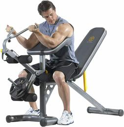 Golds Gym Olympic Full Body Utility Weight Bench for Home He