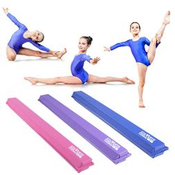Gymnastics Blance Beam 8'or 9' Folding Floor Balance Beam fo