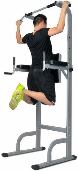 Heavy Duty Power Tower,Dip Stands for Home Gym Strength Trai