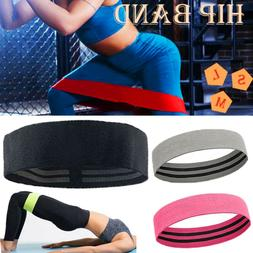 Hip Resistance Bands Loop Set Elastic Exercise Band Fitness