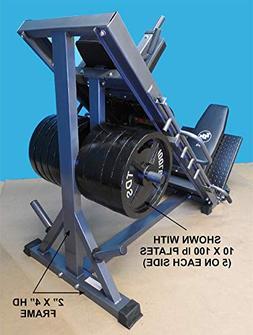 4-Way Hip Sled to use as Leg Press, HACK Squat, Forward Thru