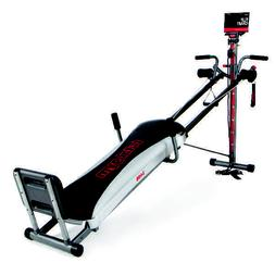 Home Exercise Total Gym Deluxe Fitness Machine w/ Workout DV