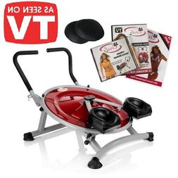 Home Fitness Machine Gym Workout Exercise Equipment with DVD