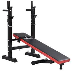 Home Foldable Weight Lifting Flat Incline Bench Heavy Duty F