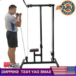 Home gym body Lat Pull down Machine Low Row Bar Cable Fitnes