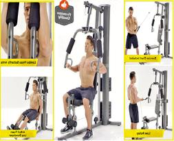 Home Gym Combination Pulley Chest Press Fly Station Legs Dev