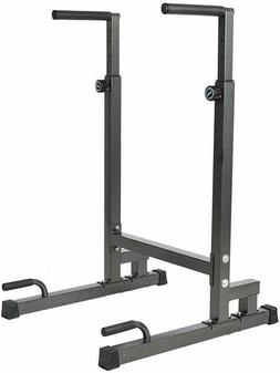 Home Gym Dip Bar Station Pull Up Stand Arm Strength Workout