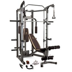 Home Gym Equipment Workout Weights Exercise Machine Smith Ca