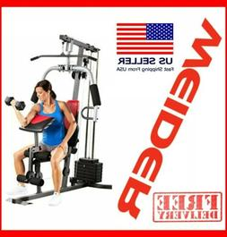 home gym exercise equipment red and black