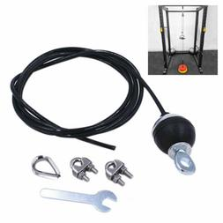 Home Gym Fitness Pulley Cable Length Adjustable Heavy Duty S