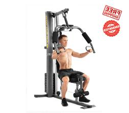 Home Gym Machine, High and Low Pulley Cable Weight System, R