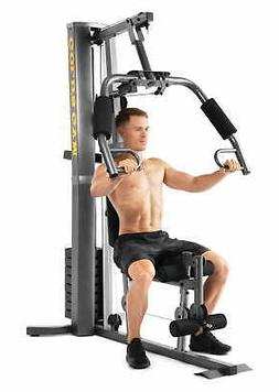 Home Gym Machine Workout Muscle Pulley Cable Weight System R