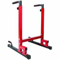HOME GYM BalanceFrom Multi-Function Dip Stand Dip Station Di