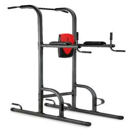 Home Gym Power Tower Four Workout Push-Up Pull-Up Dip Statio