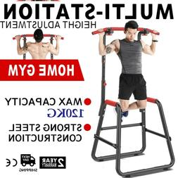 🔥Home Power Tower Multi-Station Push Pull Up Chin Dip Bar