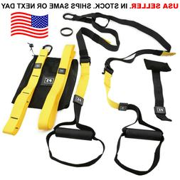 Home Gym Suspension Resistance Strength Training Strap Worko