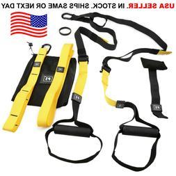 Home Gym Suspension Resistance Strength Training Strap Worko