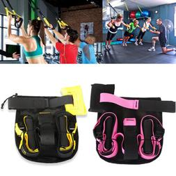 Home Gym Suspension Strap System Fitness Strap Resistance Ex