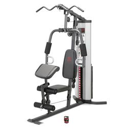 Marcy Home Gym System 150lb Weight Stack Machine, Premium, N