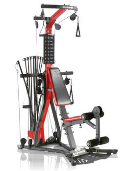 Home Gym System Complete Exercise Machine Bowflex Cables Tra