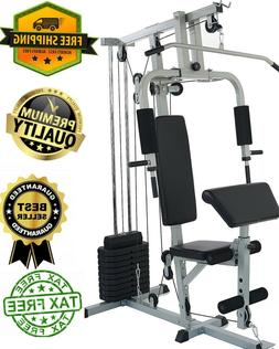 Home Gym System Workout Station with 330LB of Resistance, 12