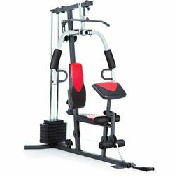 Home Gym Weider 214 lb Stack, 300 lbs, exercise chart, ankle