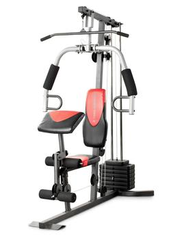Weider Home Gym With 214 Lbs. Of Resistance Preacher Curl Pa