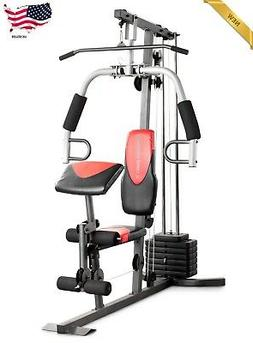 Home Gym Workout Weight System w/ 214 lb. Resistance Exercis