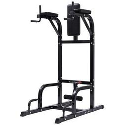 Home Gyms Sporting Goplus Vertical Knee Raise Workout Stand