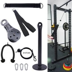 Home Lat Pull Down Workout Cable Pulley Gym Equipment Hangin