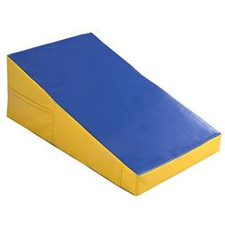Goplus Gymnastics Mat Incline Wedge Ramp for Tumbling Aerobi